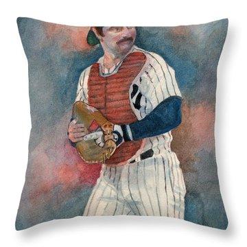 Thurman Throw Pillow by Nigel Wynter