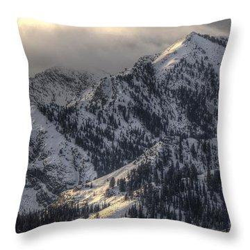 Thurston Peak Pano Throw Pillow