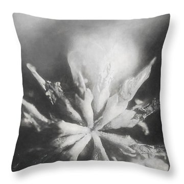 Thy Art In Dying Throw Pillow