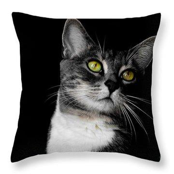Ti Min Throw Pillow by Bianca Nadeau