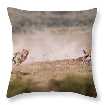 Hunter Throw Pillows