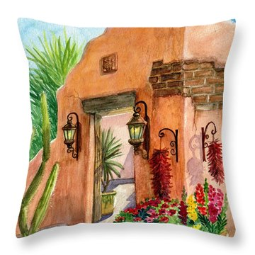Tia Rosa Time Throw Pillow