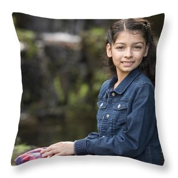 Tiana Throw Pillow