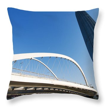 Tianjin City Throw Pillow