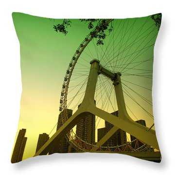 Tianjin Eye  Throw Pillow