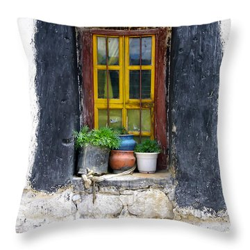 Tibet Window Throw Pillow