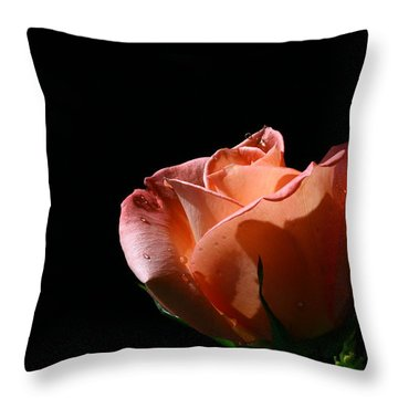 Throw Pillow featuring the photograph Tickled Coral by Doug Norkum