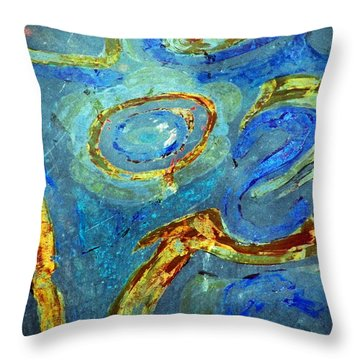 Tickled Throw Pillow