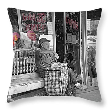 Tickled Pink Throw Pillow