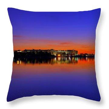 Tidal Basin Sunrise Throw Pillow