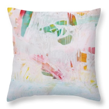 Throw Pillow featuring the painting Tidal Wash  C2012 by Paul Ashby