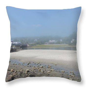 Tide Is Out Throw Pillow