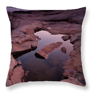 Tide Pool Geometry Throw Pillow