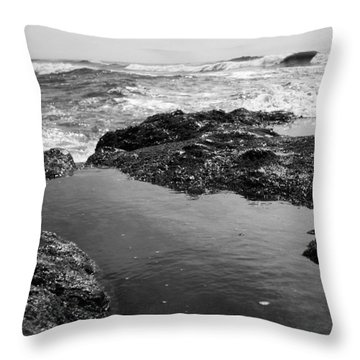 Tide Pool Throw Pillow by Tarey Potter