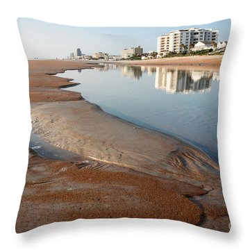 Tide Pool Throw Pillow