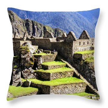 Tiers Throw Pillow