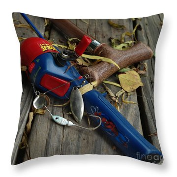 Throw Pillow featuring the photograph Ties That Bind by Peter Piatt