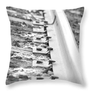 Ties That Bind Us Throw Pillow by Lisa Knechtel