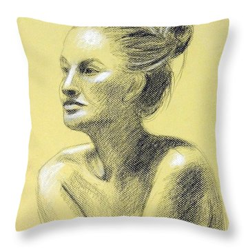 Tiffany Portrait Throw Pillow