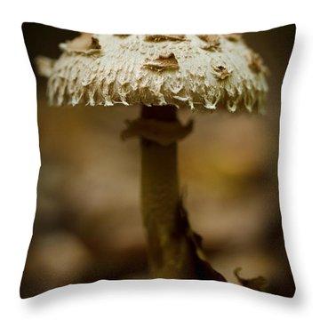 Tiffany Shroom Throw Pillow