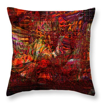 Tiger Glass Throw Pillow
