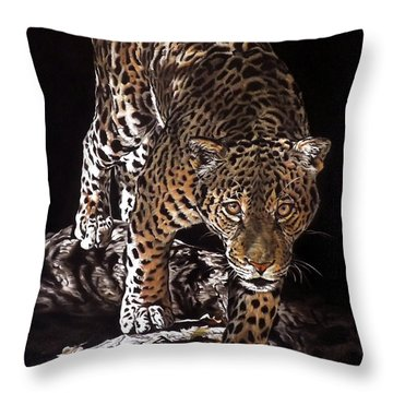 Tikal Out Of The Darkness Throw Pillow