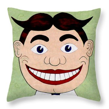 Fun Face Throw Pillow