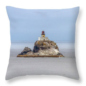 Tillimook Lighthead Throw Pillow