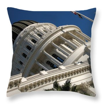 Tilted Dome Throw Pillow