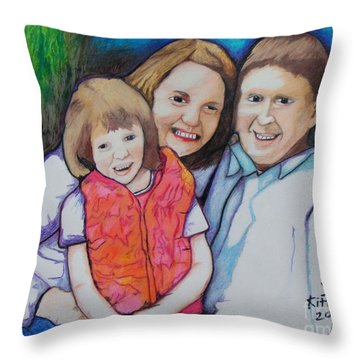 Tim Shellie Annalise Throw Pillow