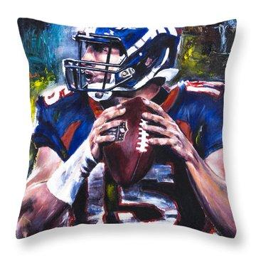 Tim Tebow Throw Pillow
