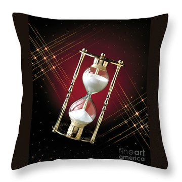Time And Space Throw Pillow by Gary Gingrich Galleries