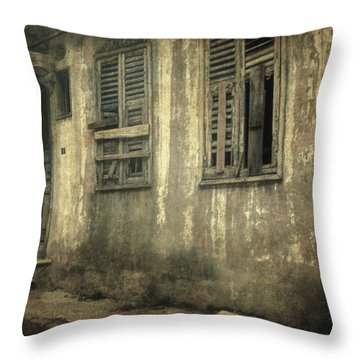 Time Beyond Time Throw Pillow by Taylan Apukovska