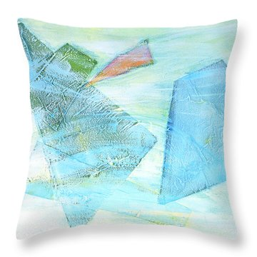 Time Flying By  Throw Pillow by Asha Carolyn Young