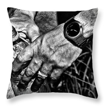 Time For A Break Throw Pillow by Karol Livote