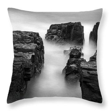 Time Throw Pillow by Gunnar Orn Arnason