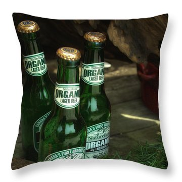 Time In Bottles Throw Pillow