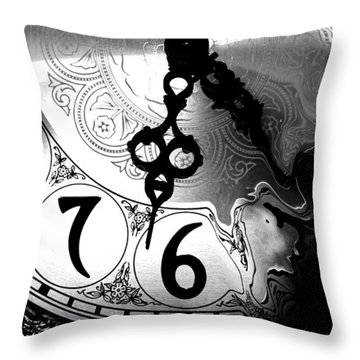 Time Is An Illusion Throw Pillow