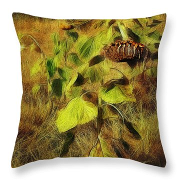 Time Is The Enemy Throw Pillow