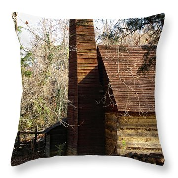 Time Past Throw Pillow by Shari Nees