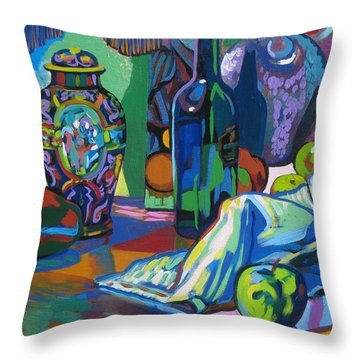 Throw Pillow featuring the painting Time Regained by Clyde Semler