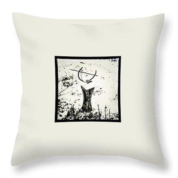 Time Throw Pillows