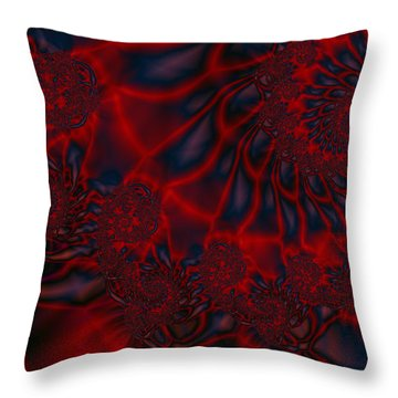 Throw Pillow featuring the digital art Time Slide by Elizabeth McTaggart