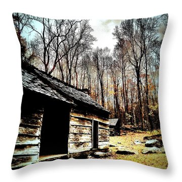 Throw Pillow featuring the photograph Time Standing Still by Faith Williams