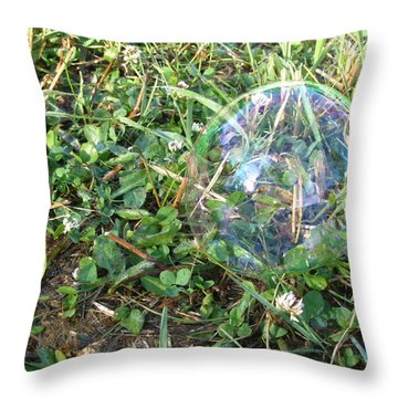 Time Stands Still Throw Pillow