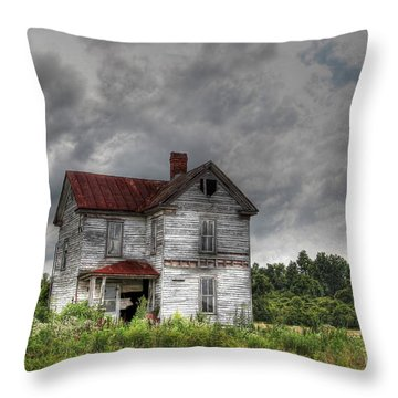 Time Stood Still Throw Pillow by Benanne Stiens