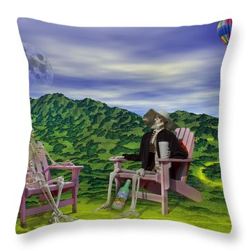 Time To Call A Doctor Throw Pillow by Betsy Knapp