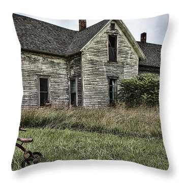 Time To Come Inside Throw Pillow by John Crothers