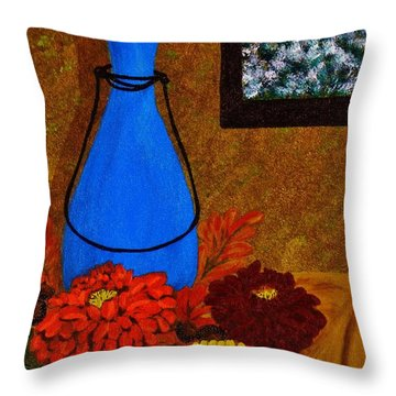Time To Decorate Throw Pillow by Celeste Manning