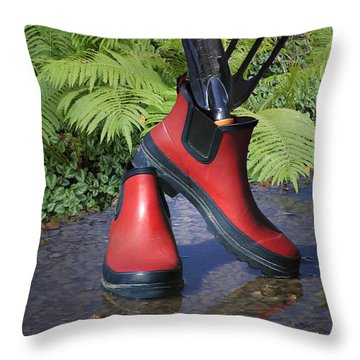 Time To Get Planting Throw Pillow